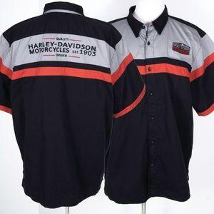 Harley-Davidson Garage Short Sleeve Shop Shirt